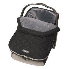 JJ Cole JUSBM - Saco de abrigo para cochecito Urban Bundleme, grupo 0, color negro y gris