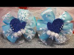 Diy Bow, Diy Ribbon, Diy And Crafts, Arts And Crafts, Disney Bows, Bow Tutorial, Christmas Bows, Baby Girl Headbands, How To Make Bows