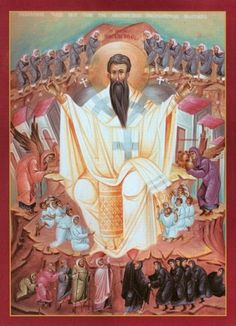 """""""Personality Worship""""? Or acknowledging the greatness of St Basil? Pray for us!"""