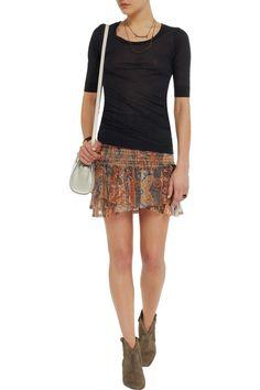 Image result for smocked mini skirt