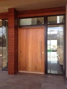 Image result for cedar entry door contemporary