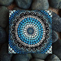 Dot Painting Authentic Australian Aboriginal by RaechelSaunders
