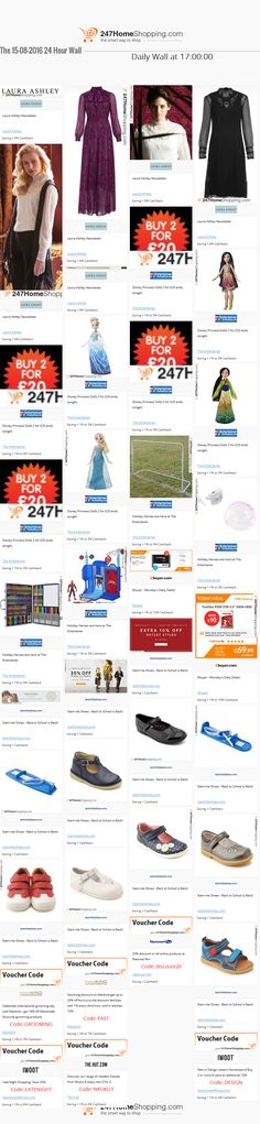 Our Savings for the 15/08/2016 at 17:01    Unmissable Deals on the 247homeshopping SUPER SAVER WALL!    http://www.247homeshopping.com/15-08-2016.htm?smm=pintwall15-08-2016-pFB1
