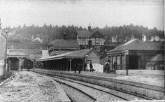 Heathfield and Sandy Cross, From Heathfield to East Hoathly