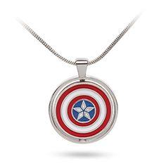 Marvel Civil War Choose Your Side Pendant - Exclusive | ThinkGeek