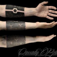 Geometric tattoos                                                                                                                                                                                 More