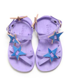 wovenplay star sandals
