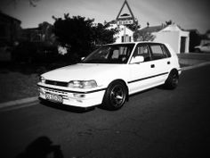 Volvo 240, Rims For Cars, Toyota Corolla, Jdm, Old School, Vehicles, Tractor, Technology, Motivation