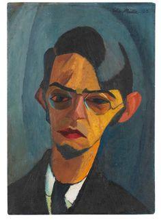 Conrad Felixmüller (1897-1977) Self-portrait, 1915