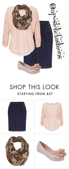"""Apostolic Fashions #1392"" by apostolicfashions on Polyvore featuring New Look and Melissa"