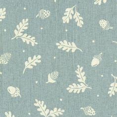 Swedish blinds fabric:     Acorn and Leaf - Duck Egg