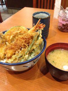 #Tendon 天丼 Japanese Food