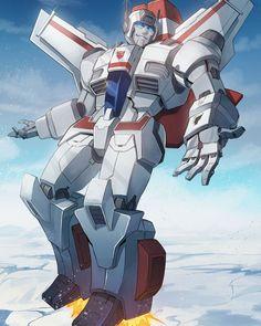 Transformers Jetfire, Transformers Optimus Prime, Transformers Generation 1, Arte Robot, Transformers Characters, Vw Touran, Cultura Pop, Animation, Classic Cartoons