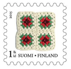 Postage Stamps, Finland, Denmark, Stamps