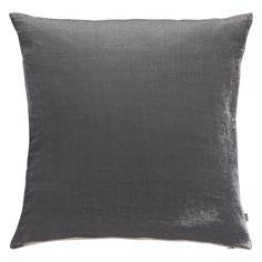 REGENCY Grey velvet cushion 45 x 45cm | Buy now at Habitat UK