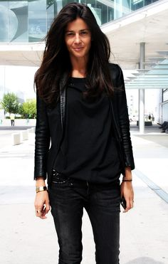 geez i love all black! || barbara martelo
