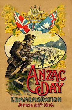 Anzac day is a national day of remembrance in Australia which is celebrated on the of April. It was originally meant to honour the people of the Australian and New Zealand Army Corps (ANZAC) that fought in Wilhelm Ii, Kaiser Wilhelm, Anzac Day Australia, Australian Vintage, Remembrance Day, Lest We Forget, World War One, Wwi, Ww1 Soldiers