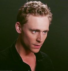 Tom Hiddleston does menacing AND cute at the same time.