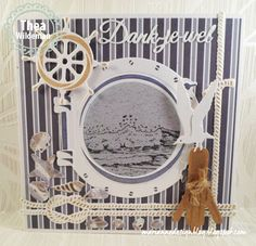 Marianne Design - New Items - Nautical Theme Nautical Cards, Nautical Theme, Scrapbooking, Scrapbook Pages, Marianne Design Cards, Beach Cards, Easel Cards, Men's Cards, Sea Theme