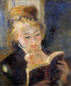 Pierre-Auguste Renoir - Girl Reading