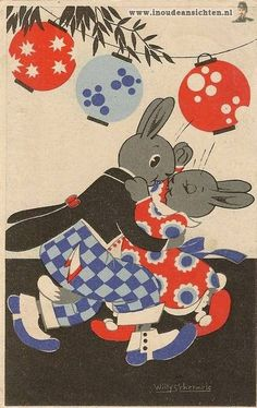 Easter Rabbit Romance! ~ Willy Schermele