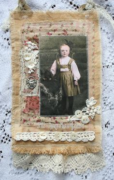 Inspiration for that old family photo quilt that I want to make some day.