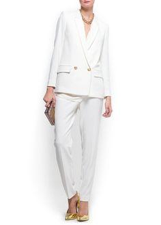 MANGO woman suit