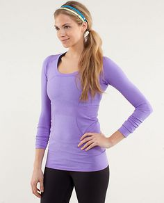 RUN:Swiftly Tech LS Scoop   power purple