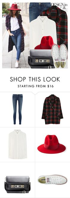 """""""2033. Street Style"""" by chocolatepumma ❤ liked on Polyvore featuring Oris, Frame Denim, MANGO, Yves Saint Laurent, Emilio Pucci, Proenza Schouler, Converse, StreetStyle, chic and converse"""