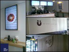 Digital Menu Boards at Nu Health Café