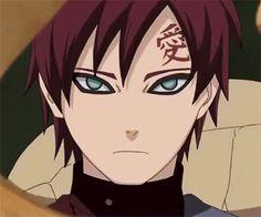 Just imagine Gaara with eyebrows