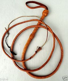 Bull Whip 9 Foot 12 Plait Raiders Indiana Jones Trick Kangaroo Leather Bullwhip | eBay