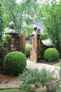 Simple Garden Designs, Rock Garden Design, Garden Design Plans, Backyard Garden Design, Garden Landscape Design, Fence Design, Landscaping Design, Garden Art, Gazebo On Deck