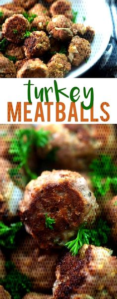 #turkeymeatballrecipe #meatballs #weeknight #delicious #marinara #healthy #amazing #turkey #... Ground Turkey Meatballs, Amazing, Beef, Chicken, Healthy, Food, Meat, Essen, Ox