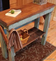 Create A Cottage Style Kitchen | Flea Market Finds | Pinterest | Island  Table, Kitchen Styling And Cottage Style