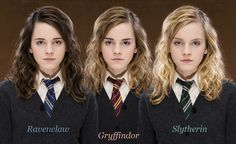 Harry Potter - Alternate Universe Hermiones. My favorite is Slytherin :)