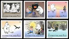more moomin stamps :)