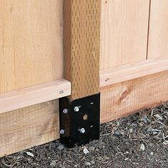 EZ spike - for installing fence posts without digging or concrete.