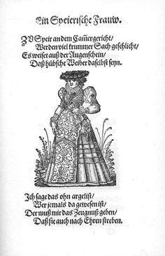 Frauen-Trachtenbuch 013.jpg A woman from Speyer.