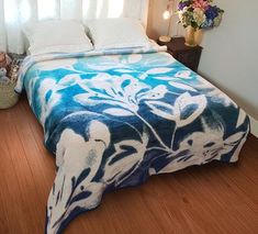 Blue is beautiful! Our Blossom Azure Luxury Blanket is one of our best sellers. Get your own now and brighten up your home today! Beautiful Day, Best Sellers, Comforters, Blankets, Luxury, Bed, Home, Design, Creature Comforts
