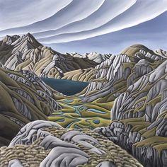 Valley Of The Trolls by Diana Adams - Art Prints New Zealand Wall Art For Sale, Troll, New Zealand, Diana, Autumn, Art Prints, Landscape, Artist, Collection