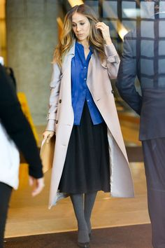 3+Killer+Outfits+From+Sarah+Jessica+Parker's+New+TV+Show+via+@WhoWhatWear