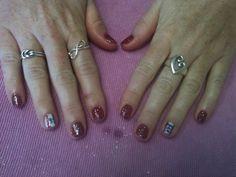 Texas rangers nails By Kristi Owens At Astonish salon Midland tx