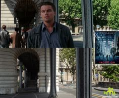 Inception (2010, Leonardo DiCaprio, Joseph Gordon-Levitt): Pont de Bir-Hakeim, Paris, France