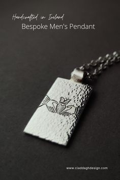 Designed and Handcrafted in Ireland. Hallmarked Sterling Silver and gold custom made for you.