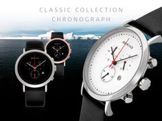 Chronograph; Classic Collection; BERING watches Available at Silverscape Designs www.silverscapedesigns.com