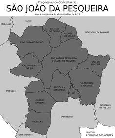 Freguesias do concelho de São João da Pesqueira