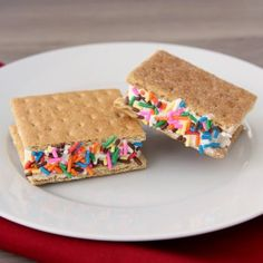 Two-Minute Ice Cream Sandwiches