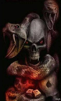 Serpiente by calavera | Dark Visions | Pinterest | Tattoo ...