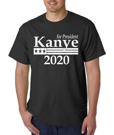 Kanye West for President 2020 T-Shirt Available on Shopify! Shop here 👉 http://midwestrogue.com/products/kanye-west-for-president-2020-t-shirt?utm_campaign=crowdfire&utm_content=crowdfire&utm_medium=social&utm_source=pinterest